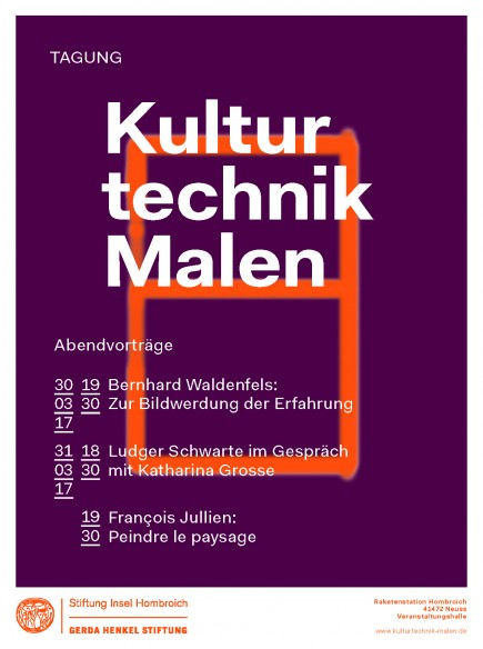 PosterKulturtechnikMalen