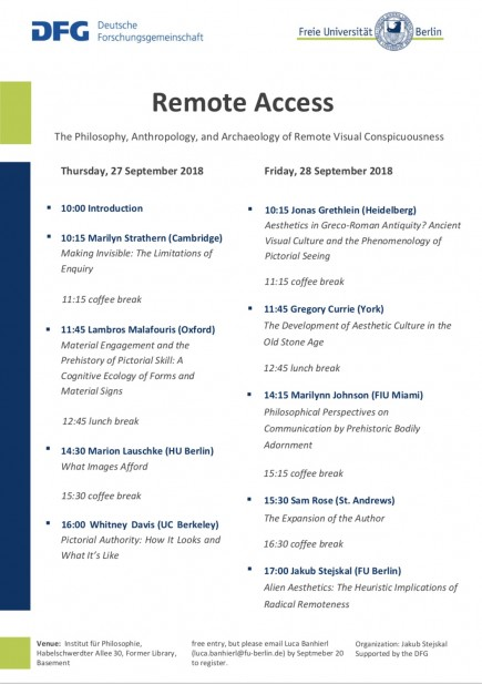 Remote Access Programm_Abstracts